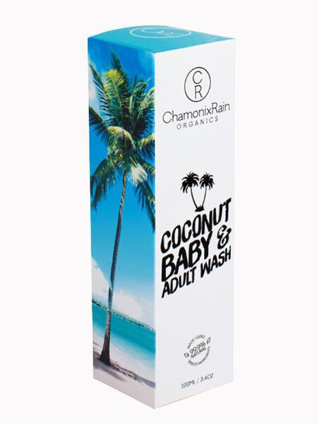 Coconut Baby & Adult Wash 100ml