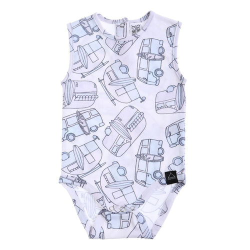 Sunday Soldiers Caravans Bodysuit