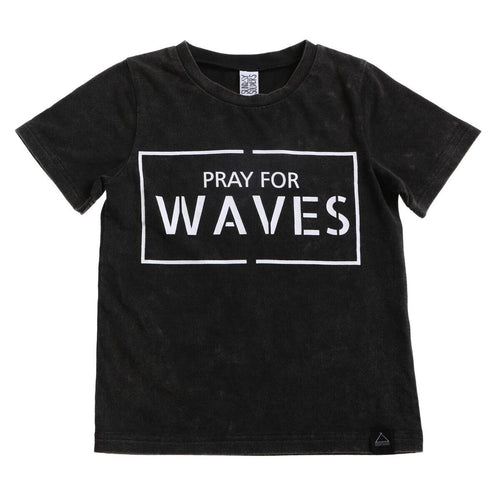 Sunday Soldiers Pray for Waves Tee