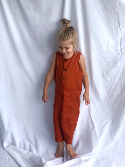 Adi and El Terre Jumpsuit Terracotta