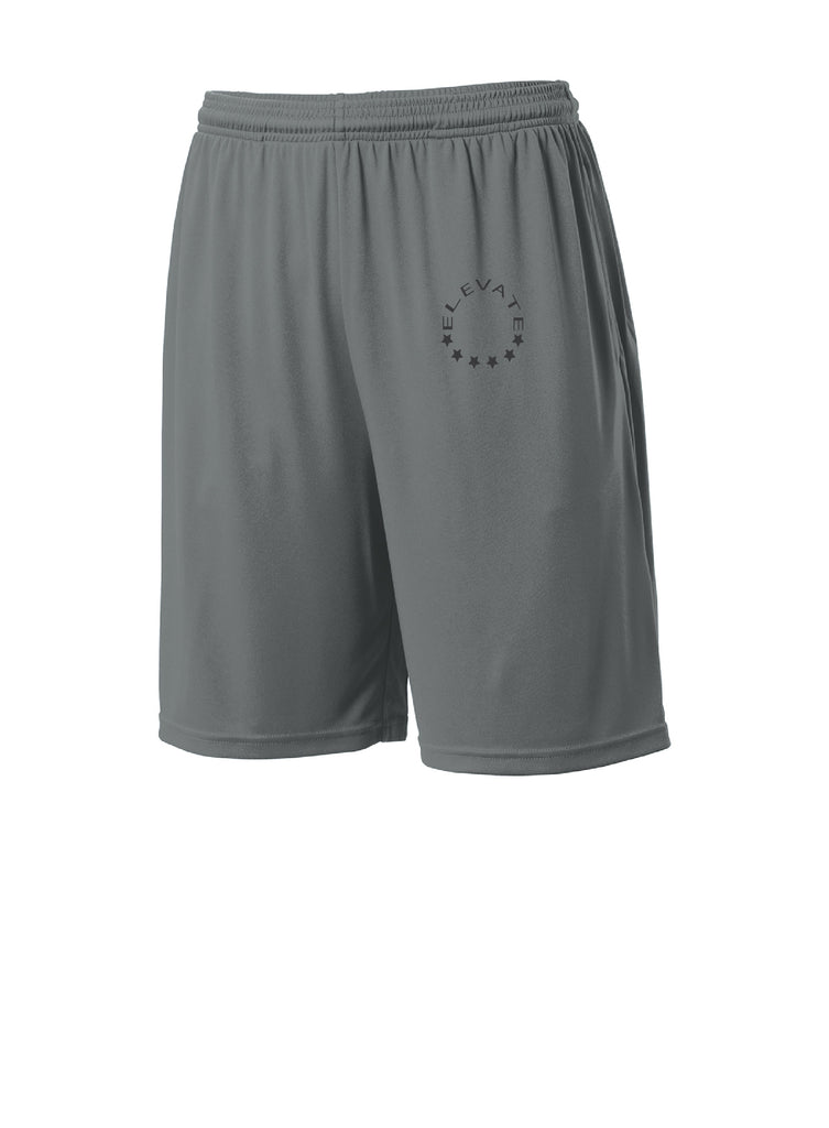 Pocketed Short -Iron Grey
