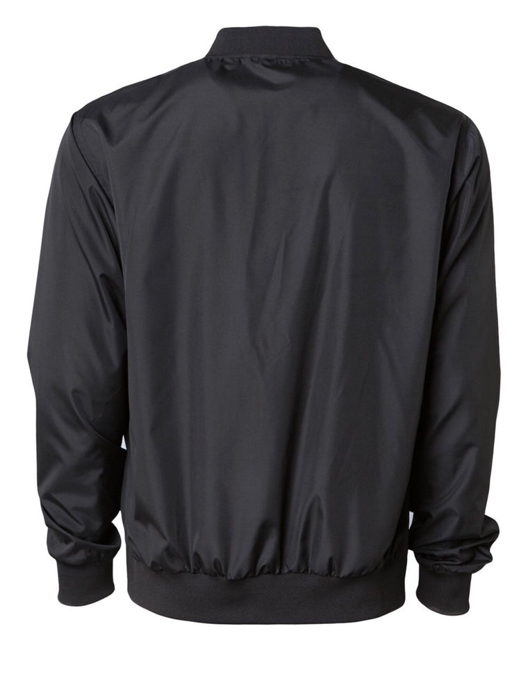 Lightweight Bomber Jacket - Black