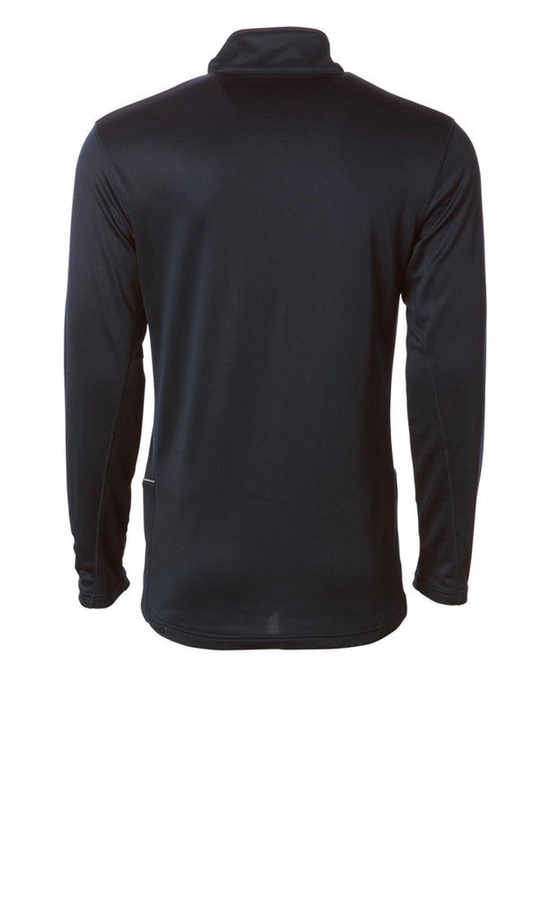 Lightweight Poly-Tech 1/4 Zip Up - Black