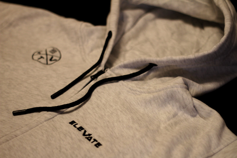 Premium Hooded Tracksuit - Grey