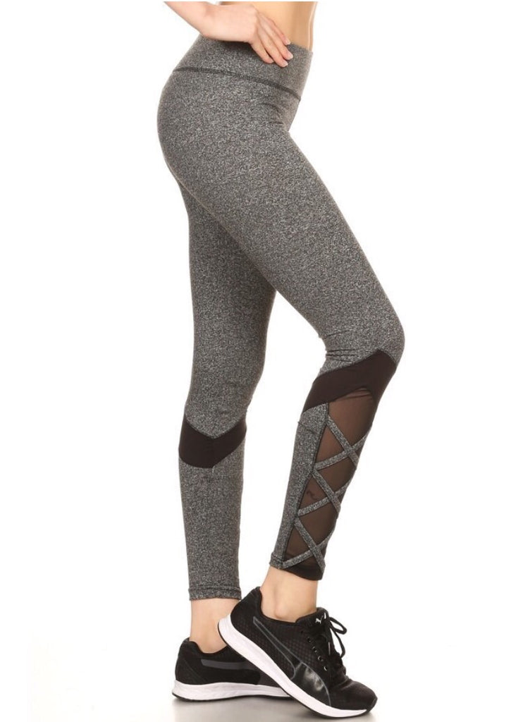 Leggings/ Heather Grey