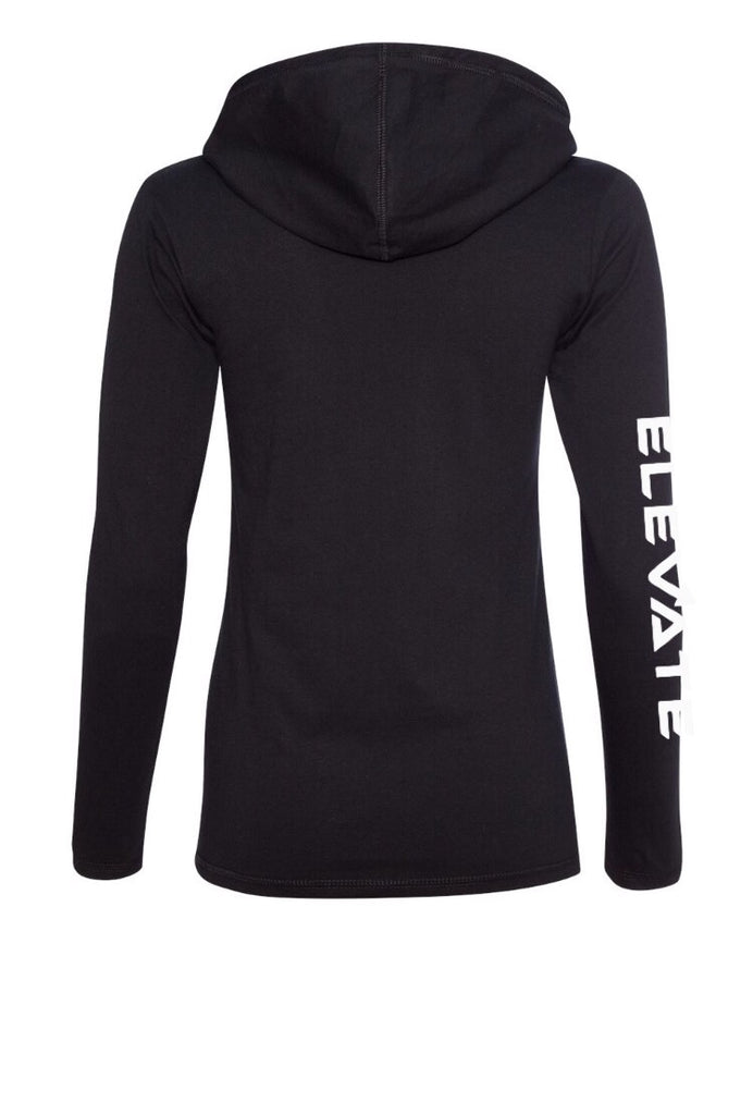 Womens Lightweight Long Sleeve - Black/ Dark Grey