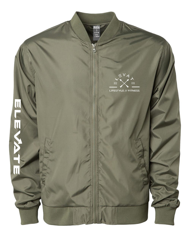 Lightweight Bomber Jacket - Army