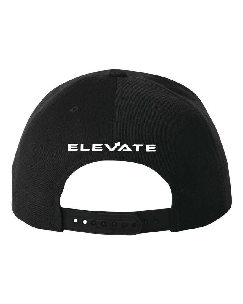 Snap Back - Black/ White