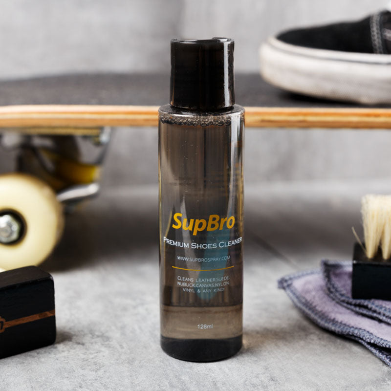 Supbro Premium Shoes Cleaner 128ml - Single Bottle