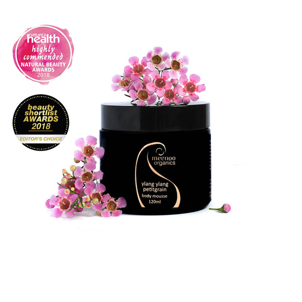 Ylang Ylang Petitgrain Body Mousse - 120ml limited stock only