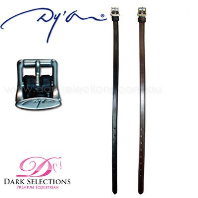 Dy'on Reinforced Leather Spur Straps