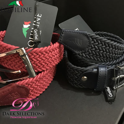 18SS Equiline Double Braid Elastic Belt