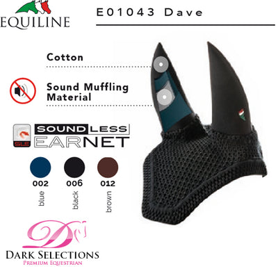 Equiline DAVE Soundless Ear Bonnet
