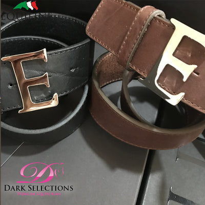 Equiline Leather E Belt