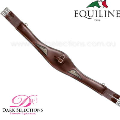 Equiline Leather Anatomic Girth