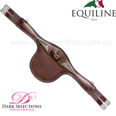Equiline Leather Stud Guard Girth