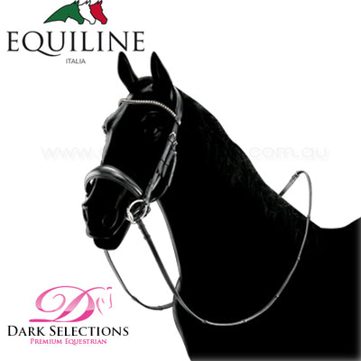 EQUILINE CRYSTAL DRESSAGE BRIDLE