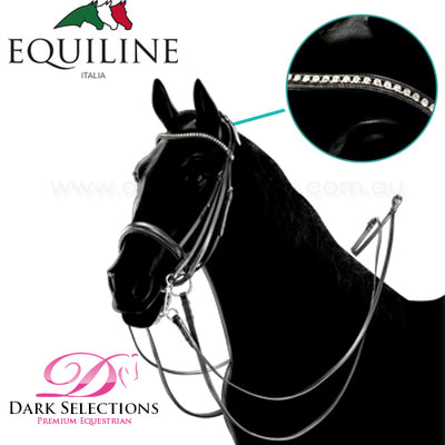 Equiline Crystal Double Bridle