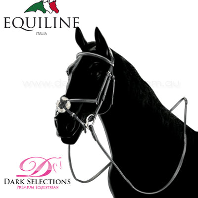 EQUILINE GRACKLE BRIDLE INC. REINS