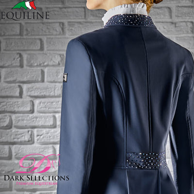 Equiline X-COOL MARILYN Tail Coat - Navy 40IT
