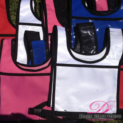 XC Competition Number Bib with Medical Pocket