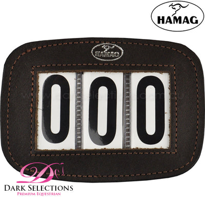 Hamag Leather Bridle Numbers - Pair
