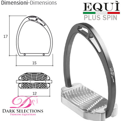 EQUITALY PLUS SPIN STIRRUP