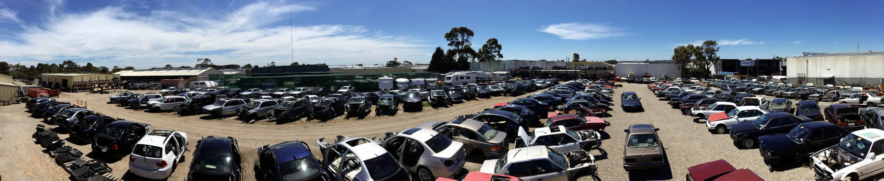 BMW Wreckers with over 2,700 so far