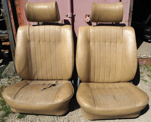 Used BMW Front Seat Set E10 2002 Beige S2755