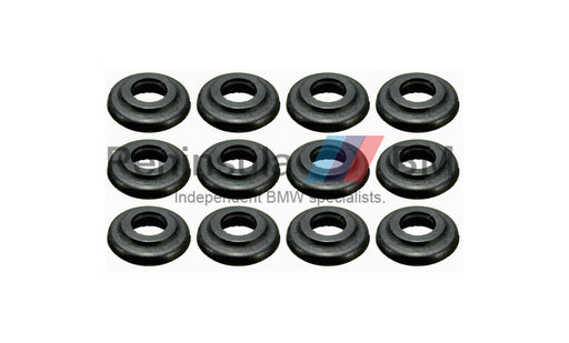 BMW Rubber Seal for Rocker Cover Bolt (Set of 12) 11121437395 M50 M52 M54 M60 M62 S54