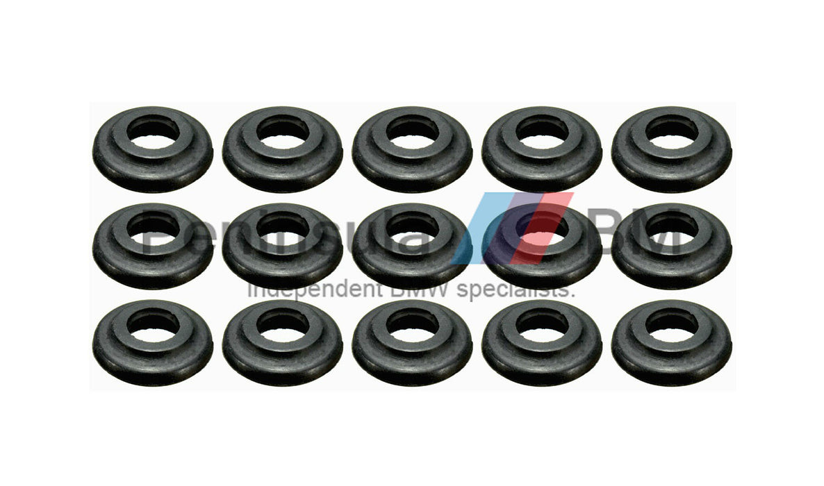 BMW Rubber Seal Rocker Cover Bolt (Set of 15) E36 E46 E39 E38 X3 X5 11121437395