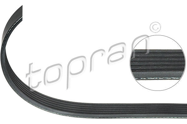 BMW Ribbed V-Belt 5PK950 Climate Compressor M43 E46 11281437874