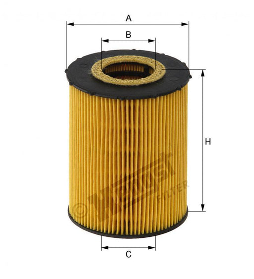BMW Oil Filter N62 - Hengst