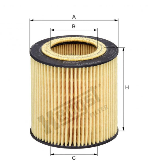 BMW Oil Filter N52 N52N N53 N54 N55 - Hengst