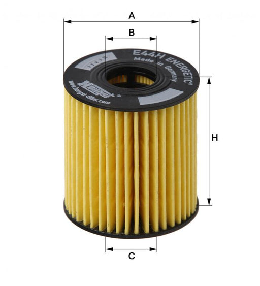 BMW Oil Filter N14 - Hengst
