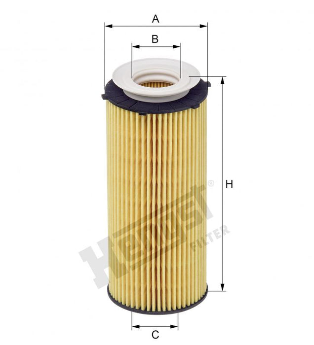 BMW Oil Filter Kit E90 E91 E92 E93 F07 F10 F01 F02 X5 X6 N57 Diesel - Hengst