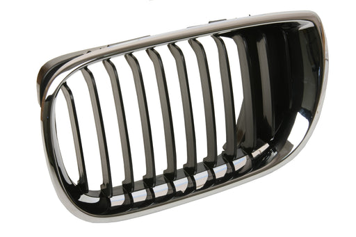BMW Grille Left Black E46 Sedan Touring 51137030545