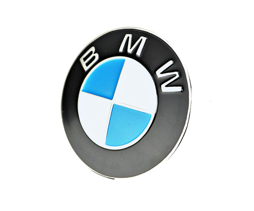 BMW Plaque Bonnet Badge 82mm GENUINE Pressed 2002 E21 2000 E12 51145480181