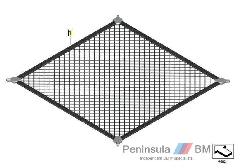 BMW Boot Floor Net Genuine E87 E90 F30 F10 F01 X1 E84 51470010557