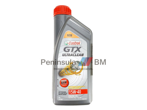 BMW Engine Oil Castrol GTX Ultraclean 15W-40
