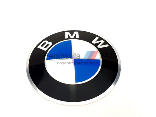 BMW Wheel Badge 70mm E28 E24 E23 GENUINE 36131181079