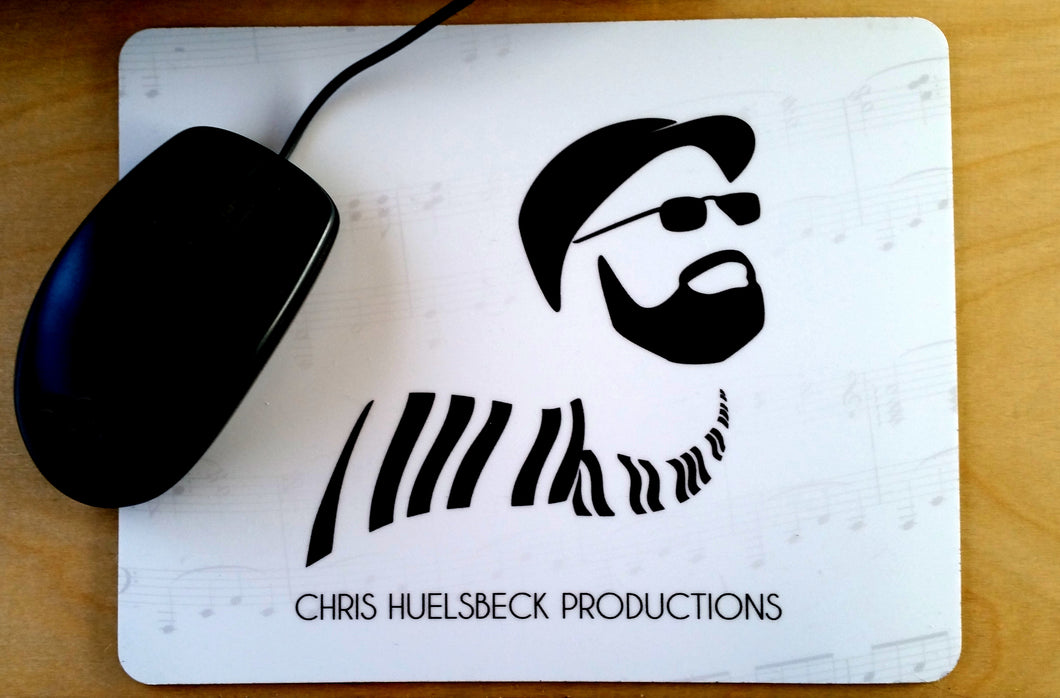 Chris Huelsbeck Productions Mouse Pad