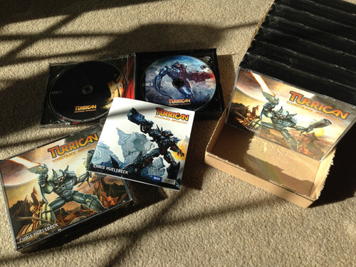 Turrican Soundtrack Anthology Limited Edition Box Set (Ultra Rare)