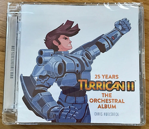 Turrican II - The Orchestral Album CD (Limited Edition with Super Jewel Case)