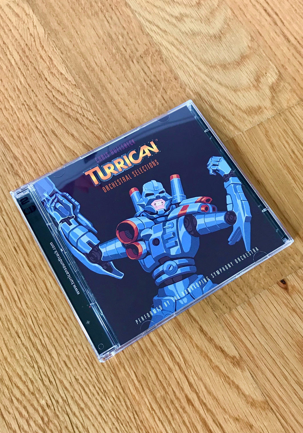 Turrican - Orchestral Selections & Rise Of The Machine (Limited Edition Double CD)