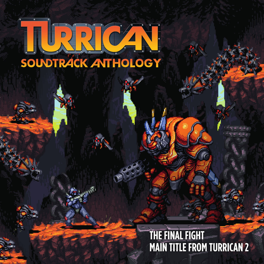 Turrican Soundtrack Anthology Vinyl Maxi Single with Yuzo Koshiro Remixes (Rare limited item)