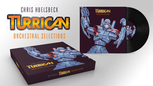 Turrican - Orchestral Selections + Amiga Bonus Album (Deluxe Limited Edition Double Vinyl + CD Box Set plus Art prints) - PREORDER