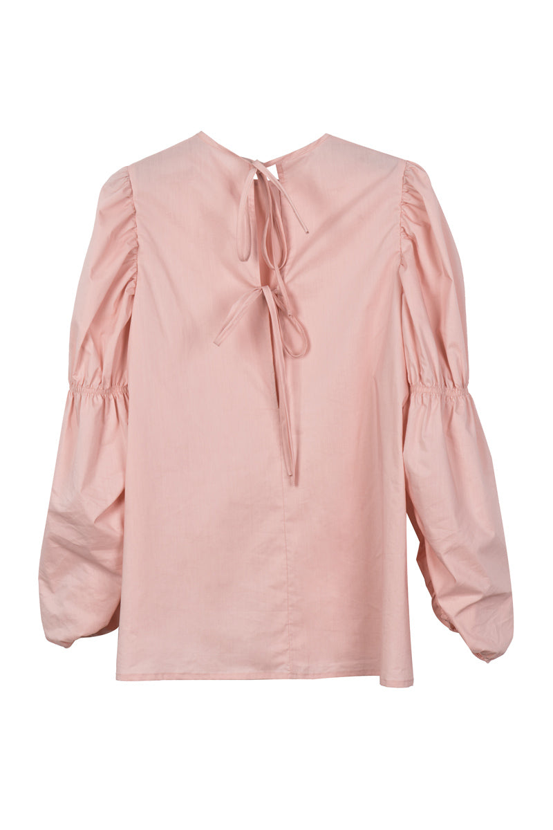 Multi Wear Puff Sleeve Blouse With Scrunched Corset - front row shop
