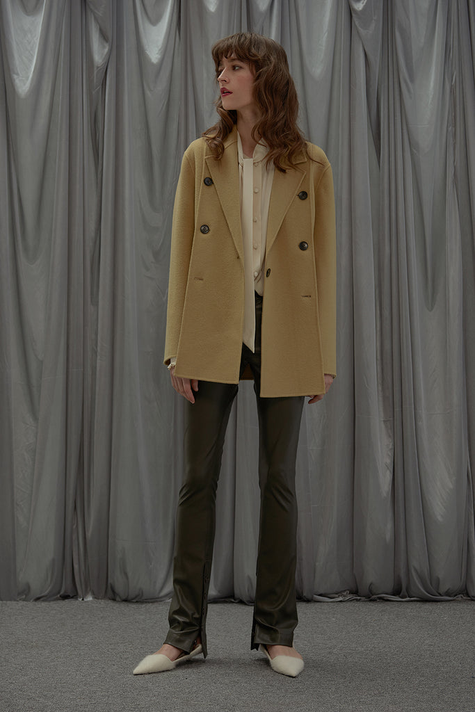 Dreaming Wool Blazer-Butter