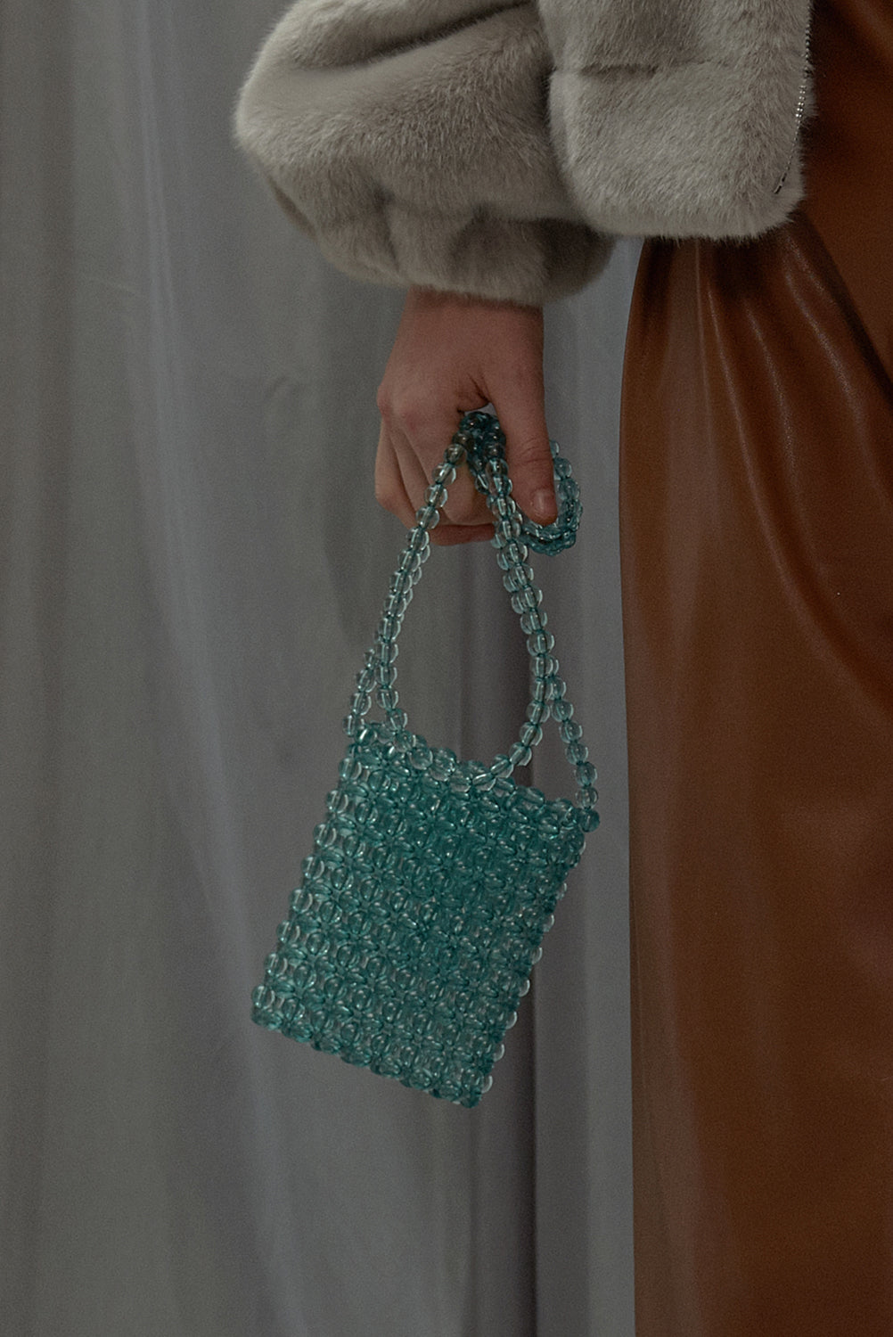 Small Sunday Girl Shoulder Bag-Dusty Green